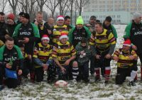 Nowy Rok powitali meczem rugby