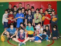 Turniej Noworoczny w Rugby - Rywalizowały Szkoły Podstawowe