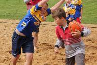Szkoły grały na piasku