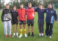 Zawodnicy Miejskiego Klubu Rugby na OKKW w Pucku