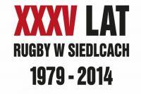 Oficjalna koszulka XXXV-lecia Rugby w Siedlcach