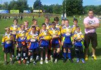 Mini żacy Miejskiego Klubu Rugby drugą drużyną kraju