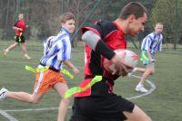 Gimnazjalna Liga Rugby Tag - trzeci turniej wygrany przez PG 4