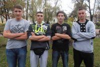 Zawodnicy Miejskiego Klubu Rugby na OKKW w Ciechanowie