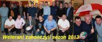 Weterani zakończyli sezon 2013