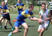 Gimnazjalna Liga Rugby Tag - Turniej w Strzale dla Pruszyna